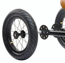 Trybike Hjulsett sort
