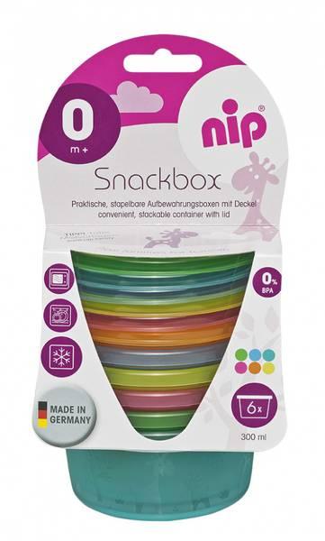 Bilde av NIP Snack bokser - 6 pakk